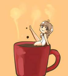 morning coffee by Snau