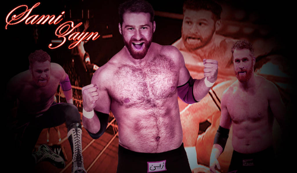 Sami Zayn Wallpaper By Himanshuloombaart On Deviantart