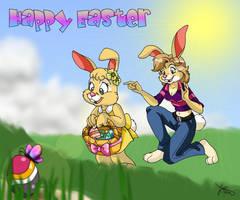 Happy Easter '07  by Panda-Jenn