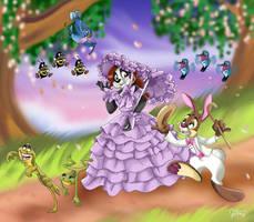 Have a Zip-A-Dee-Doo-Da Easter  by Panda-Jenn