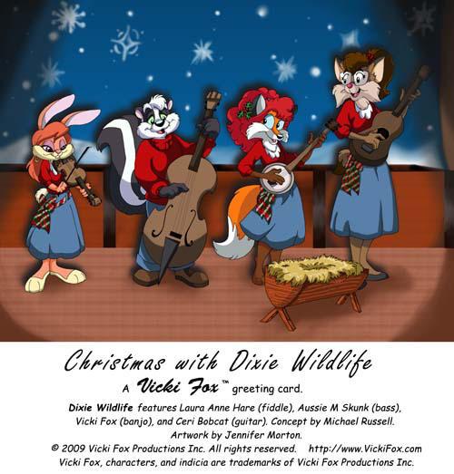 Vicki Fox Christmas Card '09 by Panda-Jenn