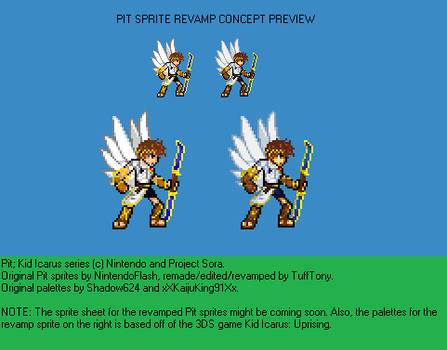 New Pit Sprite Revamp Preview By Tufftony On Deviantart