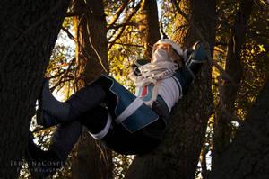 Sheik - Relaxing by TerminaCosplay