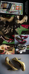 Shoe Altering Tutorial - Craft Foam by TerminaCosplay