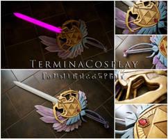 Gleaming Rapier - Hyrule Warriors by TerminaCosplay