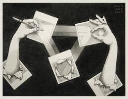 Penrose Polaroids by SaraChristensen