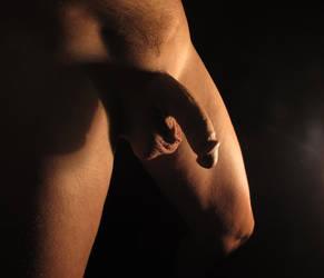 Shadowed Penis IV by cleanshvr