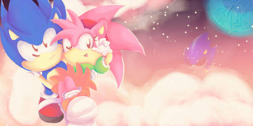 Sonamy- Sonic CD by SonicIsAwesome42