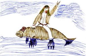 Ride the dugong by Bealzabuth