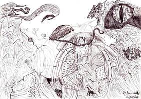 The Hermit Crab by Bealzabuth
