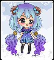 : Adopt : #06 Lovely Horn OPEN by ichiipanpan