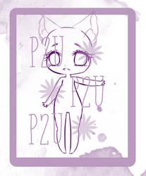 P2U - Cute Base Girl - Chibi by ichiipanpan