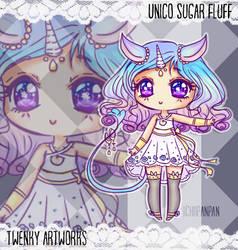 Adopt: Unico Sugar Fluff -CLOSED- by ichiipanpan