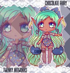 ADOPT: Chocolate Fairy - OPEN! by ichiipanpan