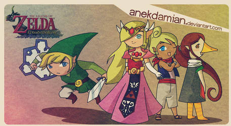 The Wind Waker by anekdamian