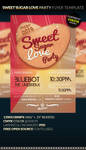 SWEET SUGAR LOVE Party Flyer Template by anekdamian