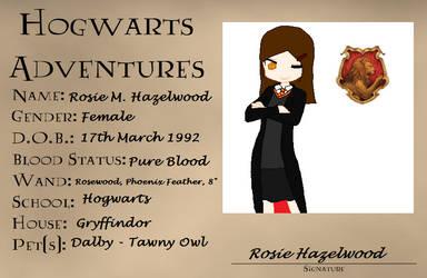HA- Rosie Hazelwood by G2Emily