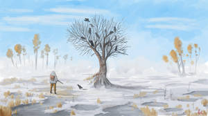 Raven Tree by FilipVecerek