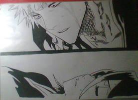 Ichigo y Rukia by Kirval159