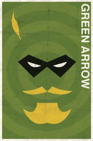 Green Arrow - Vintage Poster by drawsgood