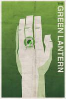 Green Lantern - Vintage Poster by drawsgood
