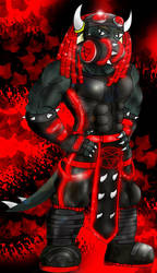 My cybergoth master by Griphass