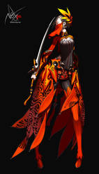 Blade and Soul #2 vector by ndox9