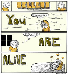 You Are Alive by boxbrown