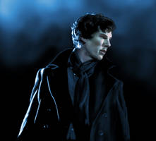Sherlock in the unaired pilot by beth193