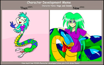 Vega character development by Eurodex