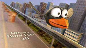 Urban Bird Flip 3D by rispenlaub