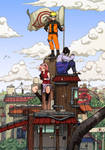 NARUTO SHIPPUDEN: Team 7 by haruningster