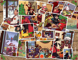 Last Christmas' Snapshots by haruningster