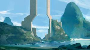 Sun Portal by TacticsOgre