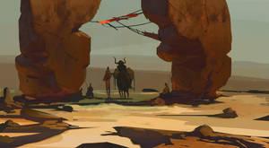 Desert Hideout by TacticsOgre