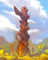 Totemic Idol by TacticsOgre