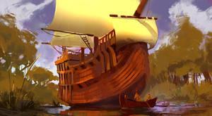4. O Barco Encantado by TacticsOgre