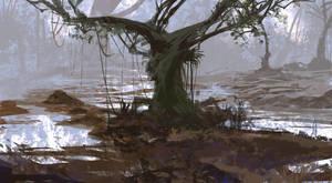 Swamp Tree by TacticsOgre
