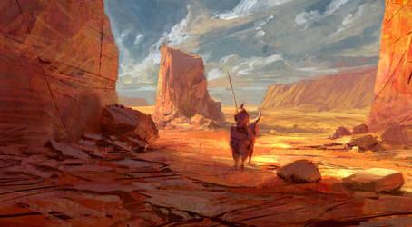 Wanderer by TacticsOgre