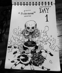 INKTOBER 2018 - DAY1 : POISONOUS by tanawa