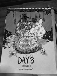 INKTOBER 2018 - DAY3 : ROASTED by tanawa