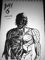 INKTOBER 2018 - DAY6 : DROOLING by tanawa