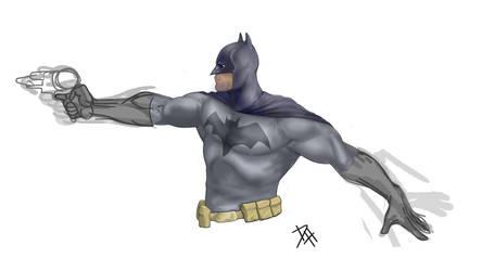 Batman Paint by Maulsmasher