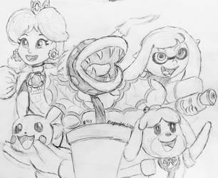 Daily Sketch 503 by PegasusJedi