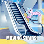 Moving Stairs! by AdriCureuil