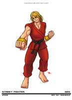 Street Fighter - Ken by RodWolf