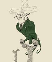 Sir Owl by MilouvanMontfort