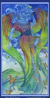 Winged Iris by AngelaSasser