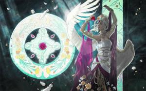 Angel of January by AngelaSasser