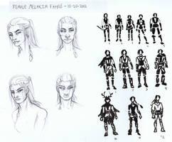 Concept Warmup - Female Melakim Fahre by AngelaSasser